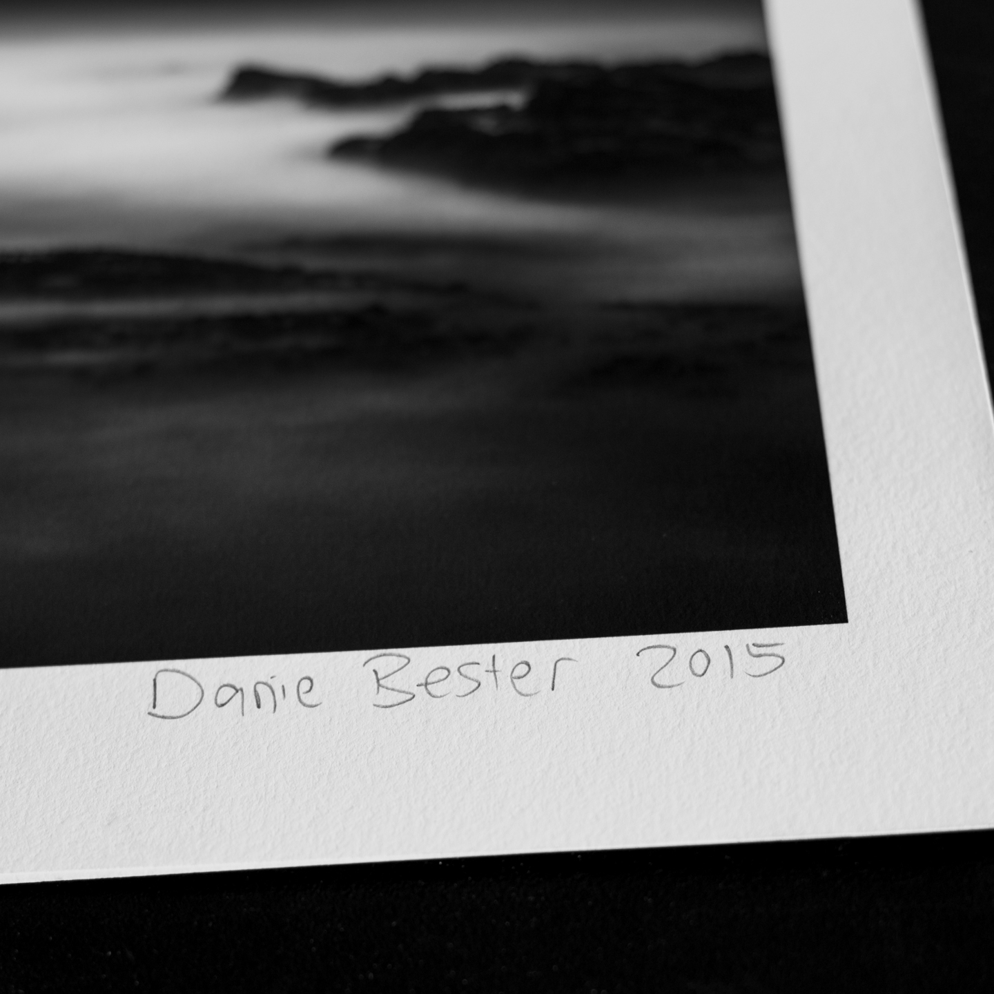 Danie Bester limited edition fine art prints are numbered and signed